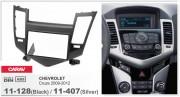 Переходная рамка Carav 11-407 Chevrolet Cruze 2009-2012 (Silver), 2-DIN