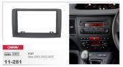 Переходная рамка Carav 11-281 FIAT Idea (350) 2003-2007, 2-DIN