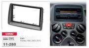 Переходная рамка Carav 11-280 FIAT Panda (169) 2003-2012, 2-DIN
