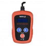 Цифровой аккумуляторный тестер с LED-дисплеем Yato YT-83113