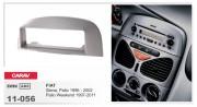 Переходная рамка Carav 11-056 Fiat Siena, Palio 1996 - 2002, Palio Weekend 1997-2011, 1-DIN