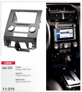 Переходная рамка Carav 11-276 Ford Escape 2007-2012, Mazda Tribute 2008-2012, MERCURY Mariner 2008-2010, 2-DIN