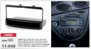 Переходная рамка Carav 11-048 для Ford Fiesta, Focus, Galaxy, Mondeo, Cougar, Puma, Escape, Maverick, Explorer, Transit / Jaguar S-Type / Geely Otaka, 1DIN