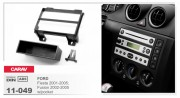 Переходная рамка Carav 11-049 FORD Fiesta 2001-2005, Fusion 2002-2005 w/pocket, 1-DIN