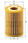 Масляный фильтр MANN HU 821 X
