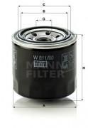 Масляный фильтр MANN W 811/80
