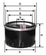 Масляный фильтр SOFIMA S2530R