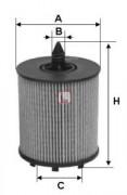Масляный фильтр SOFIMA S5024PE