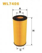 Масляный фильтр WIX WL7406