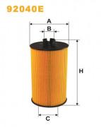 Масляный фильтр WIX 92040E