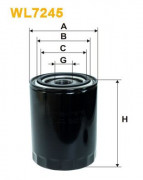 Масляный фильтр WIX WL7245