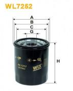 Масляный фильтр WIX WL7252