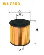 Масляный фильтр WIX WL7300