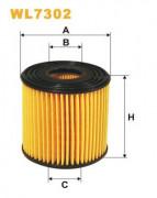 Масляный фильтр WIX WL7302