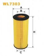 Масляный фильтр WIX WL7303