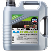 Моторное масло Liqui Moly Special Tec АА 0W-20