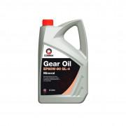 Минеральное трансмиссионное масло Comma EP 80w90 Gear Oil GL4