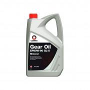 Минеральное трансмиссионное масло Comma EP 80w90 Gear Oil GL5