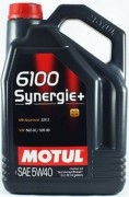 Motul Моторное масло Motul 6100 Synergie + 5W40
