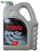 Моторное масло Fuchs Titan Supersyn Longlife 5W-40