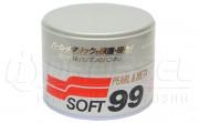 Универсальный полироль для металликовых поверхностей Soft99 Pearl & Metalik Wax 00027