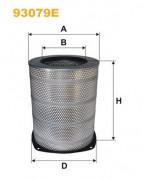 Воздушный фильтр WIX 93079E