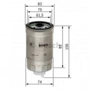 Топливный фильтр BOSCH 1457434106