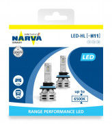Комплект светодиодов Narva Range Performance LED 18048 (H11)