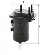 Топливный фильтр MANN WK9396
