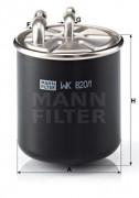 Топливный фильтр MANN WK8201