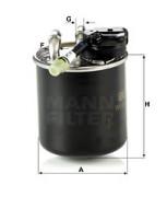 Топливный фильтр MANN WK82017
