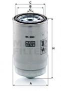 Топливный фильтр MANN WK8060Z