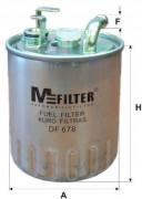 Паливний фільтр MFILTER DF678