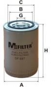 Паливний фільтр MFILTER DF697