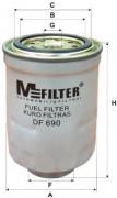 Паливний фільтр MFILTER DF690