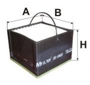 Паливний фільтр MFILTER DE3402