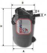 Топливный фильтр SOFIMA S1061NR