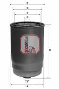 Топливный фильтр SOFIMA S4123NR