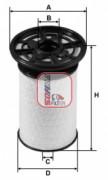 Топливный фильтр SOFIMA S6076NE