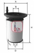 Топливный фильтр SOFIMA S6053NE
