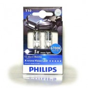 Комплект светодиодов Philips X-tremeVision (T10 / W5W) 12932LEDX2 6700K