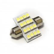 Светодиодная лампа Zax LED C5W (SV8,5) 1210 16SMD 36mm White (Белый)