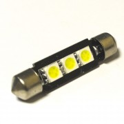Светодиодная лампа Zax LED C5W (SV8,5) 5050 3SMD 41mm White (Белый)