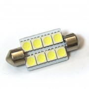 Светодиодная лампа Zax LED C5W (SV8,5) 5050 8SMD 39mm White (Белый)