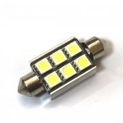 Светодиодная лампа Zax LED C5W (SV8,5) CAN 5050 6SMD 36mm White (Белый)