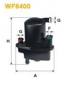 Паливний фільтр WIX WF8400