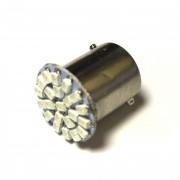 Светодиодная лампа Zax LED S25 (P21W 1156 BA15S) 1210 22SMD Red (Красный)