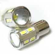 Светодиодная лампа Zax LED S25 (P21W 1156 BA15S) 5630 12SMD + CREE Lens 7.0W White (Белый)