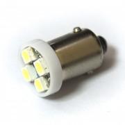 Светодиодная лампа Zax LED T4W (BA9S) 1210 4SMD White (Белый)