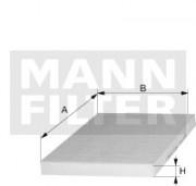Фильтр салона MANN CUK24003